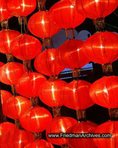 Wall of Lanterns