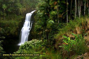 Waterfall at The Inn at Kulaniapia
