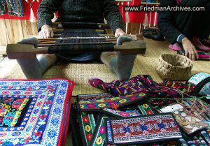 Weaving Feet