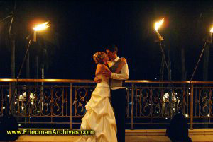 Kissing by Torchlight