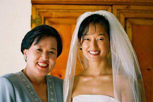 Wedding Sampler Mother and Bride