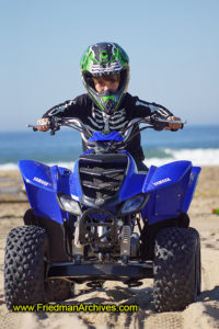 motorsport beach child