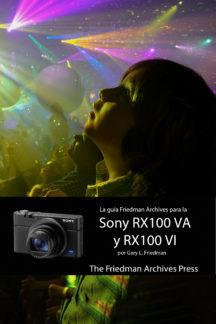 RX100 VI Front Cover Spanish