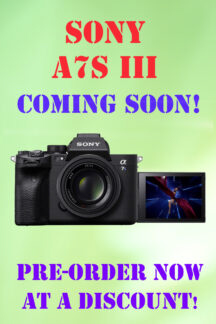 A7S III coming soon larger